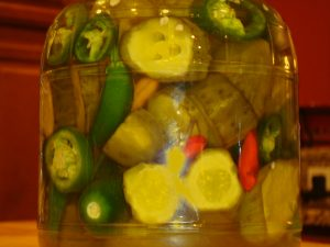 Atomic Sweet Pickles and Peppers