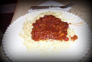 pork spaghetti