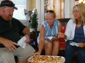Jack and Mary Waiboer, MJ Triebold enjoy