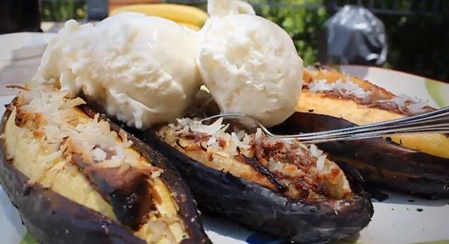 grilled banana recipe