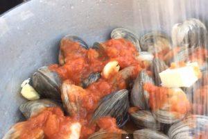 clams tomato