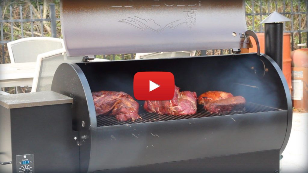best wood pellet grill video traeger v rectec
