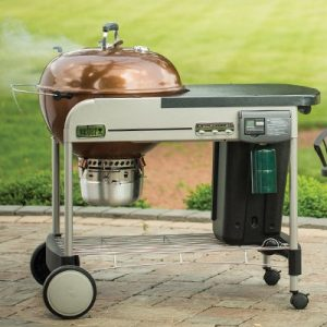 Weber performer deluxe charcoal grill review barbecue tricks for Weber performer deluxe